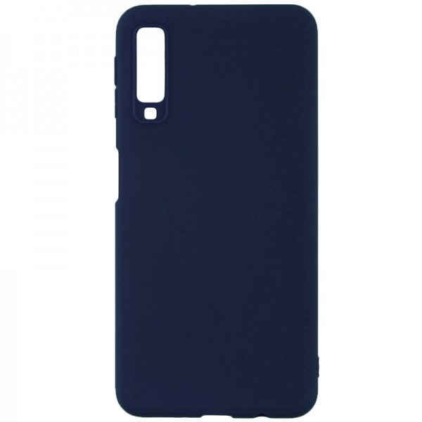 Husa Forcell Magnet Soft Case Samsung A7 2018 Blue Navy imagine itelmobile.ro 2021