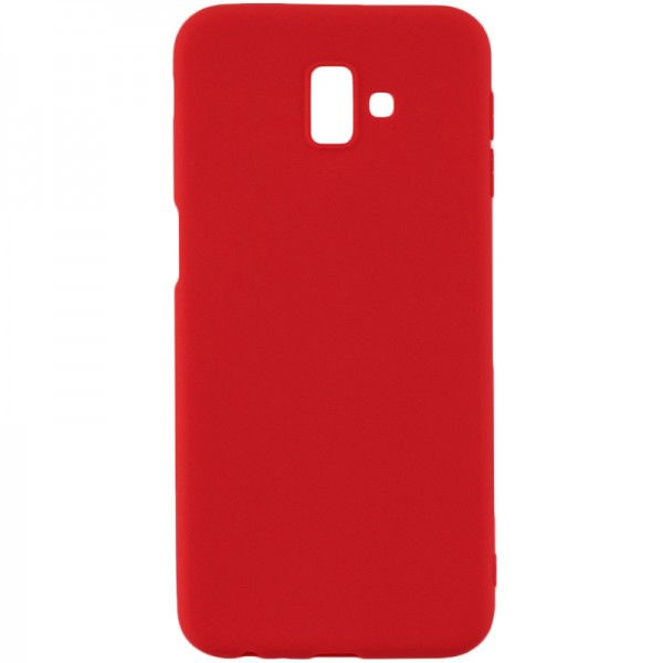 Husa Forcell Magnet Soft Case Samsung J6+ Plus 2018 Red imagine itelmobile.ro 2021
