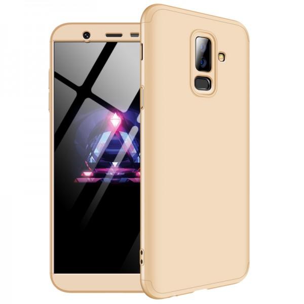 Husa 360 Grade Upzz Protection Samsung Galaxy S9 Gold imagine itelmobile.ro 2021