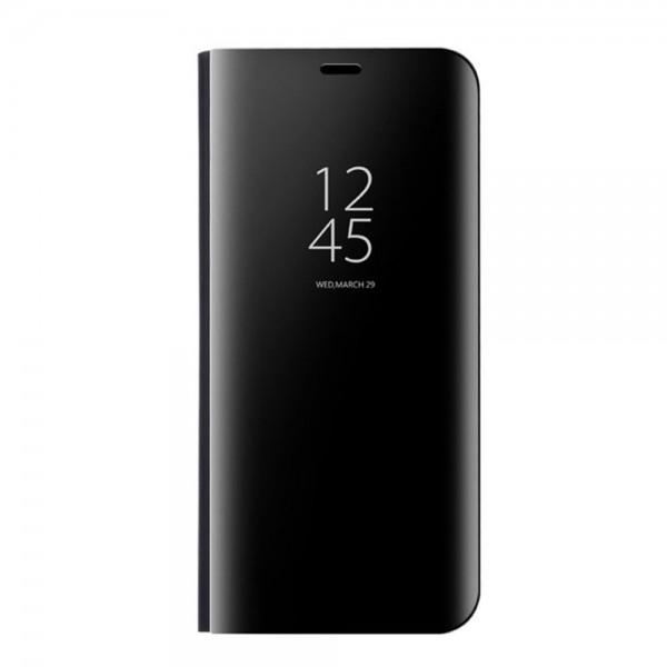 Husa Tip Carte Mirror Huawei Mate 20 Pro Negru imagine itelmobile.ro 2021