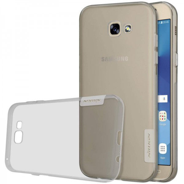 Husa Slim Nillkin Nature Samsung A7 2017 Fumurie imagine itelmobile.ro 2021