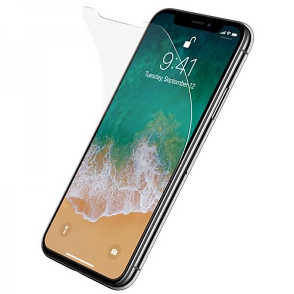 Folie Plastic Ultra Subtire Fata Si Spate iPhone Xs Max Transparenta imagine itelmobile.ro 2021