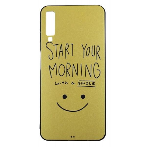 Husa Samsung A7 2018 Upzz Soft Silicon Morning imagine itelmobile.ro 2021