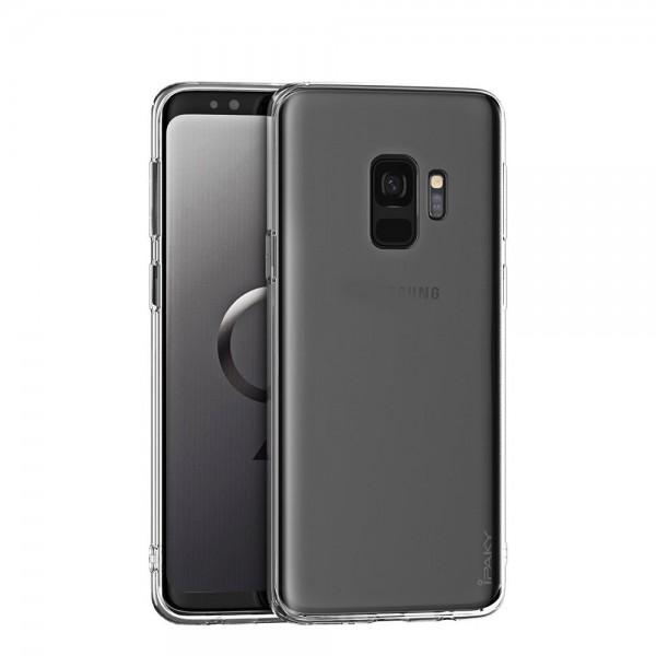 Husa Ultra Slim Premium Ipaky Effort Samsung A6+ Plus 2018 Cu Folie Sticla Marca Ipaky 9h Transparenta imagine itelmobile.ro 2021