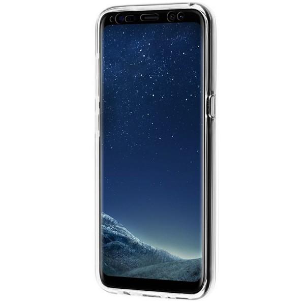Husa 360 Grade Full Cover Silicon Samsung S10 Transparenta imagine itelmobile.ro 2021