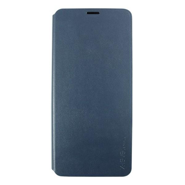 Husa Tip Carte, X-level Fibcolor Huawei Mate 20 Pro Albastra