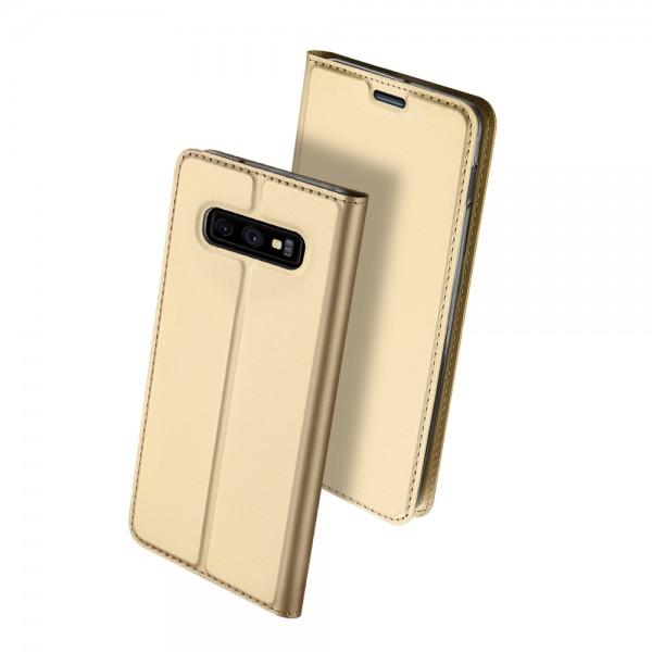 Husa Flip Cover Premium Duxducis Skinpro Samsung S10e Gold imagine itelmobile.ro 2021