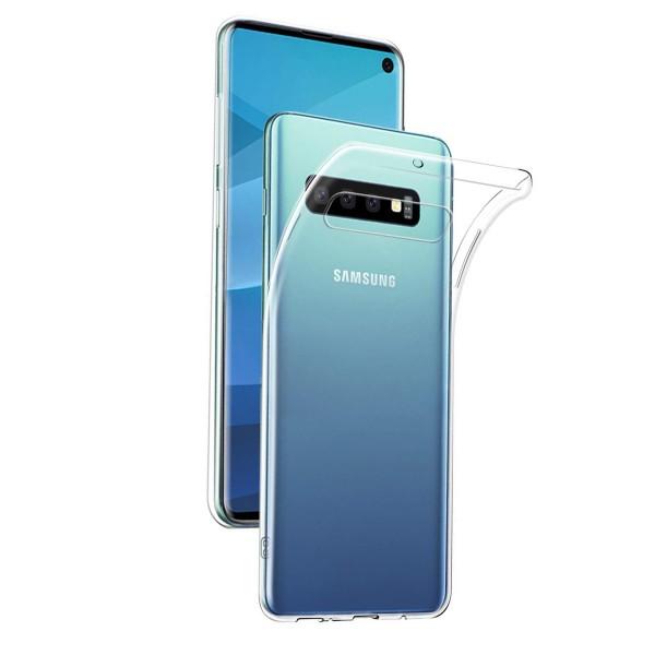 Husa Upzz Spate Ultra Slim Samsung S10+ Plus Transparenta imagine itelmobile.ro 2021