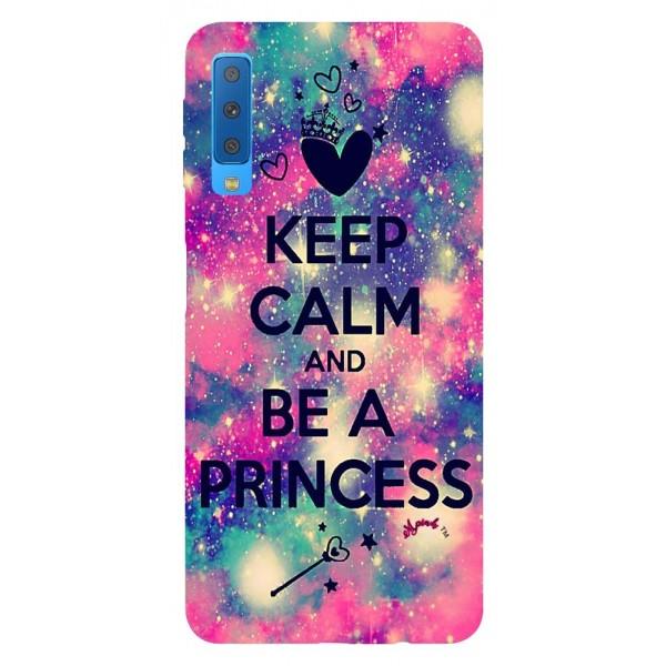 Husa Silicon Soft Upzz Print Samsung Galaxy A7 2018 Model Be Princess imagine itelmobile.ro 2021