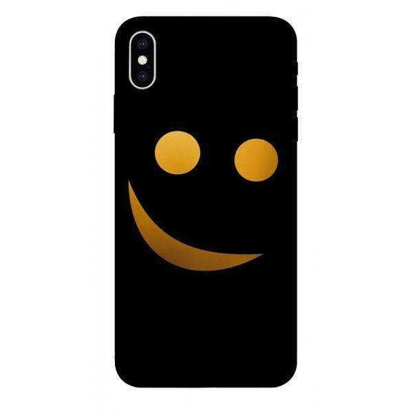 Husa Silicon Soft Upzz Print iPhone Xs Max Model Danger imagine itelmobile.ro 2021