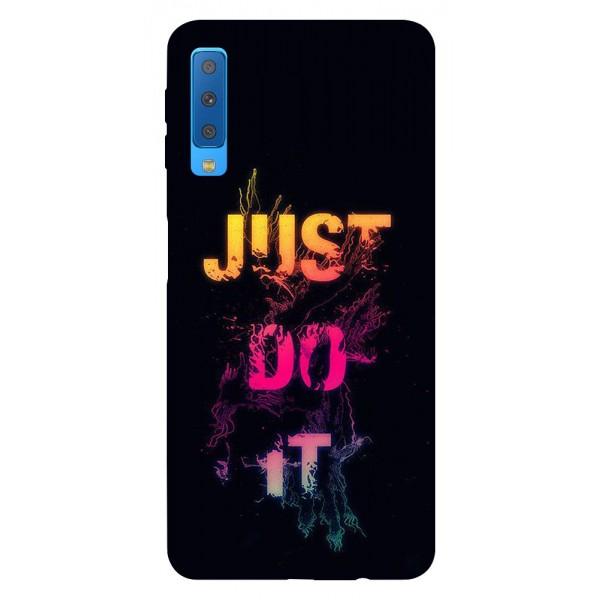 Husa Silicon Soft Upzz Print Samsung Galaxy A7 2018 Model Jdi imagine itelmobile.ro 2021