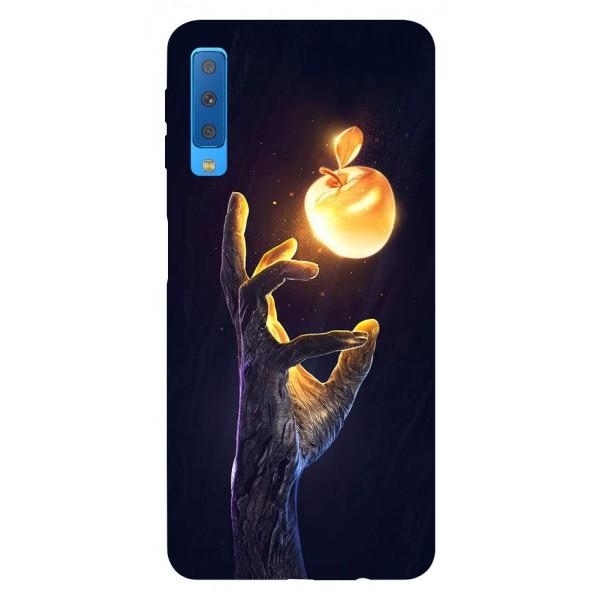 Husa Silicon Soft Upzz Print Samsung Galaxy A7 2018 Model Reach imagine itelmobile.ro 2021