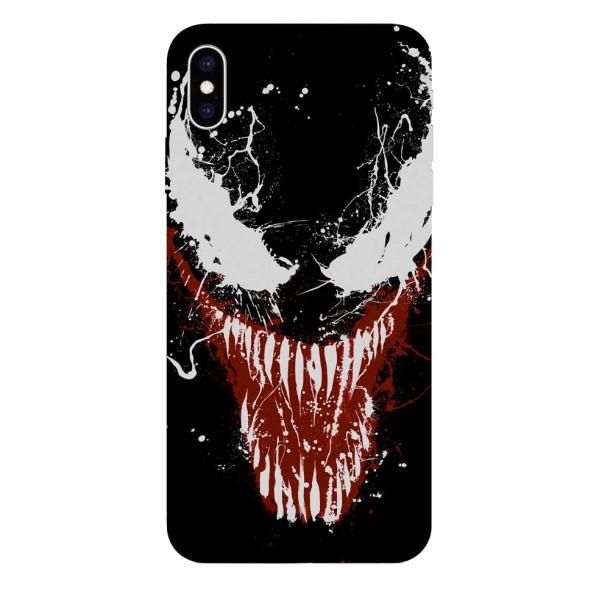 Husa Silicon Soft Upzz Print iPhone Xs Max Model Monster imagine itelmobile.ro 2021