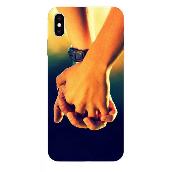 Husa Silicon Soft Upzz Print iPhone Xs Max Model Together imagine itelmobile.ro 2021