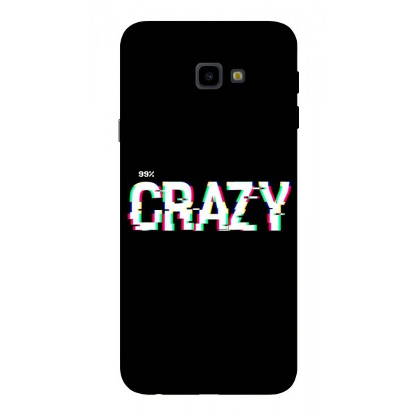 Husa Silicon Soft Upzz Print Samsung J4+ Plus 2018 Model Crazy imagine itelmobile.ro 2021