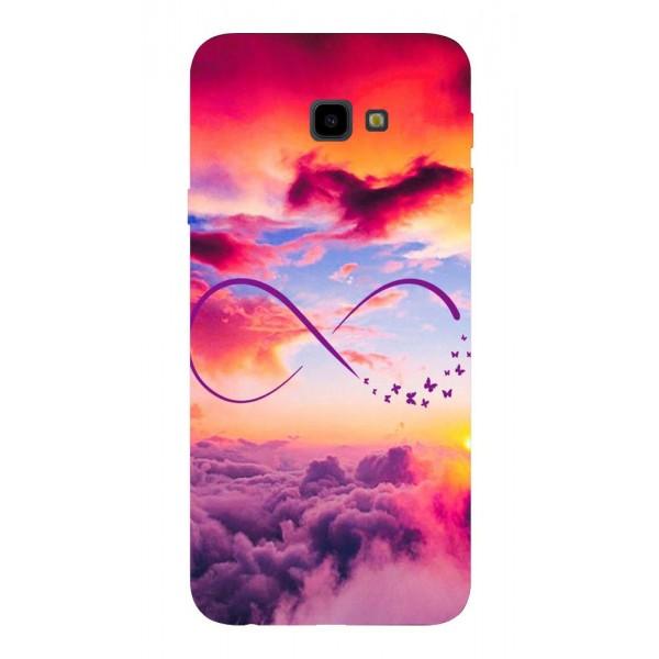 Husa Silicon Soft Upzz Print Samsung J4+ Plus 2018 Model Infinity imagine itelmobile.ro 2021