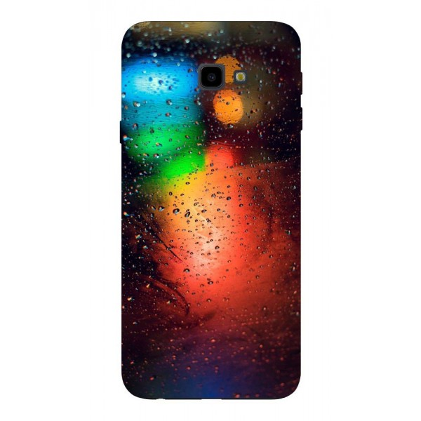 Husa Silicon Soft Upzz Print Samsung J4+ Plus 2018 Model Multicolor imagine itelmobile.ro 2021