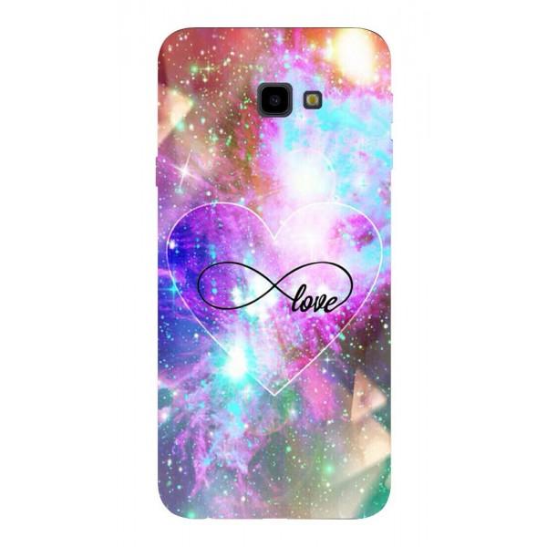 Husa Silicon Soft Upzz Print Samsung J4+ Plus 2018 Model Neon Love imagine itelmobile.ro 2021