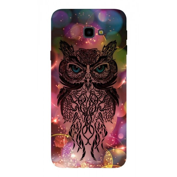 Husa Silicon Soft Upzz Print Samsung J4+ Plus 2018 Model Sparkle Owl imagine itelmobile.ro 2021