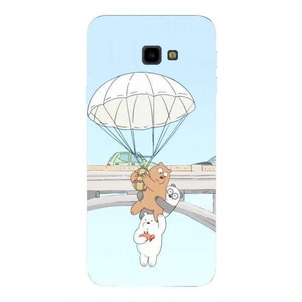 Husa Silicon Soft Upzz Print Samsung J4+ Plus 2018 Model Three Bears imagine itelmobile.ro 2021
