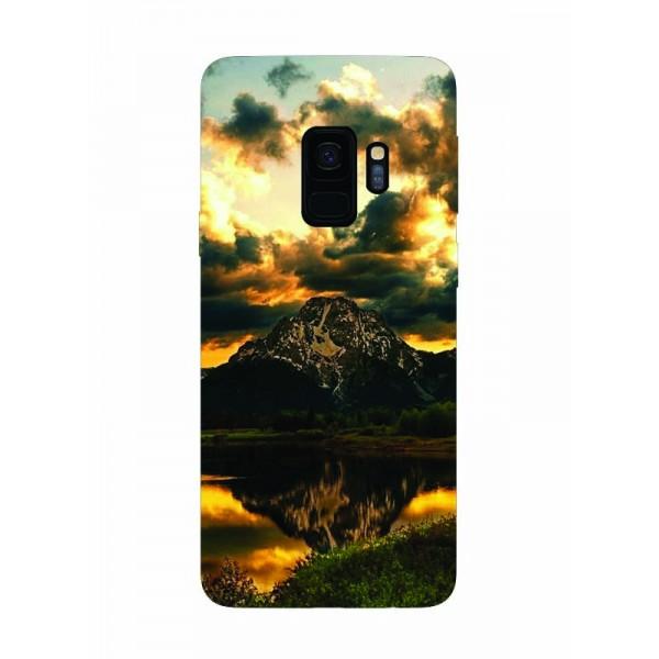 Husa Silicon Soft Upzz Print Samsung Galaxy S9 Model Apus imagine itelmobile.ro 2021