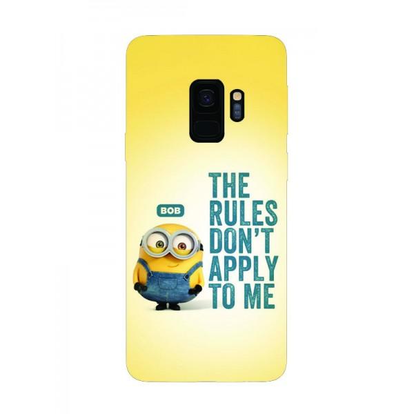 Husa Silicon Soft Upzz Print Samsung Galaxy S9 Model Bob imagine itelmobile.ro 2021