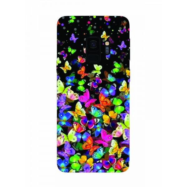 Husa Silicon Soft Upzz Print Samsung Galaxy S9 Model Colorature imagine itelmobile.ro 2021