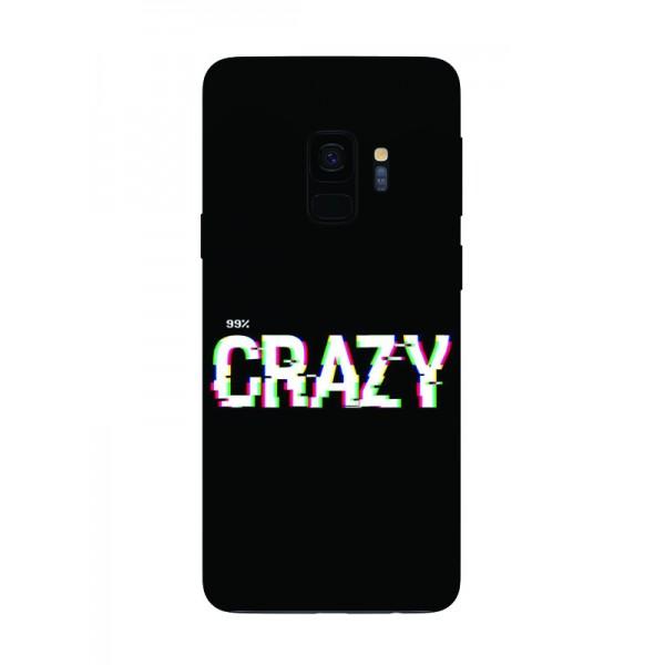 Husa Silicon Soft Upzz Print Samsung Galaxy S9 Model Crazy imagine itelmobile.ro 2021