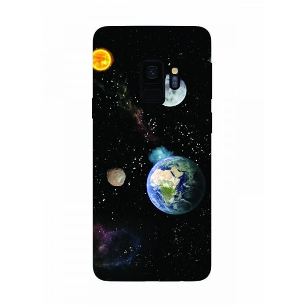 Husa Silicon Soft Upzz Print Samsung Galaxy S9 Model Earth imagine itelmobile.ro 2021