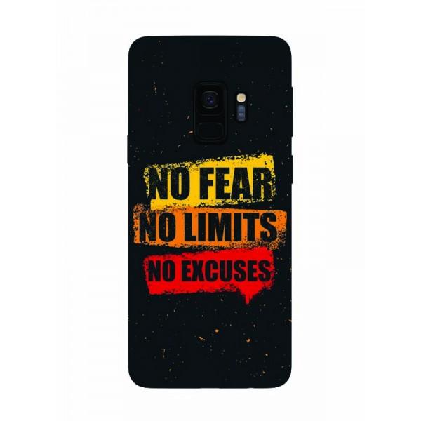 Husa Silicon Soft Upzz Print Samsung Galaxy S9 Model No Fear imagine itelmobile.ro 2021