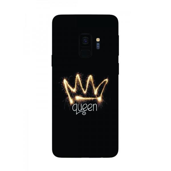 Husa Silicon Soft Upzz Print Samsung Galaxy S9 Model Queen imagine itelmobile.ro 2021
