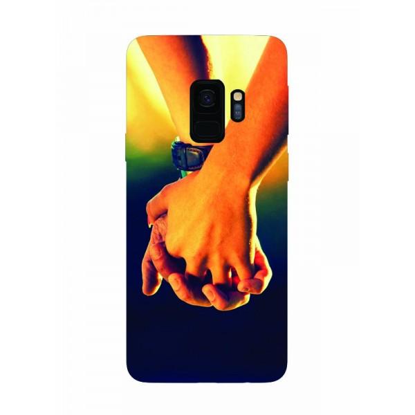 Husa Silicon Soft Upzz Print Samsung Galaxy S9 Model Together imagine itelmobile.ro 2021