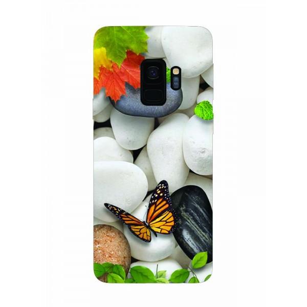 Husa Silicon Soft Upzz Print Samsung Galaxy S9 Model Zen imagine itelmobile.ro 2021