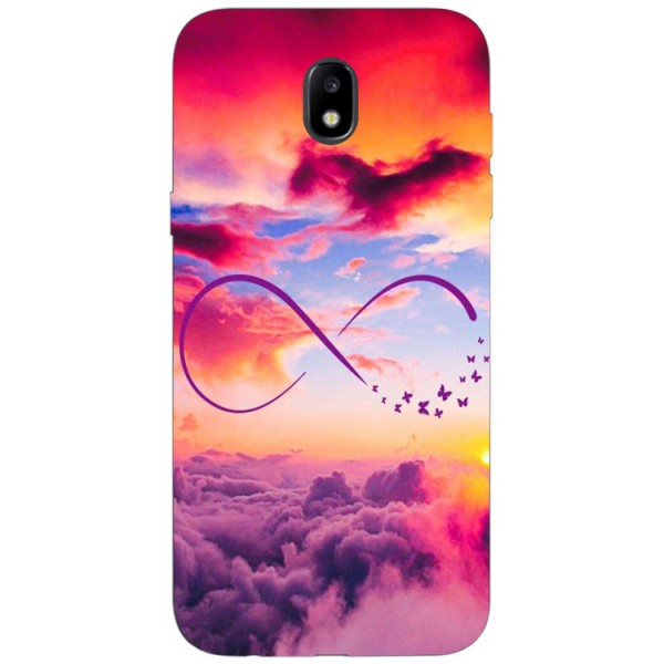 Husa Silicon Soft Upzz Print Samsung Galaxy J5 2017 Model Infinity imagine itelmobile.ro 2021
