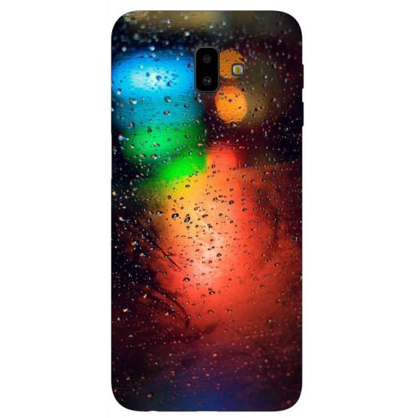 Husa Silicon Soft Upzz Print Samsung J6+ Plus 2018 Model Multicolor imagine itelmobile.ro 2021