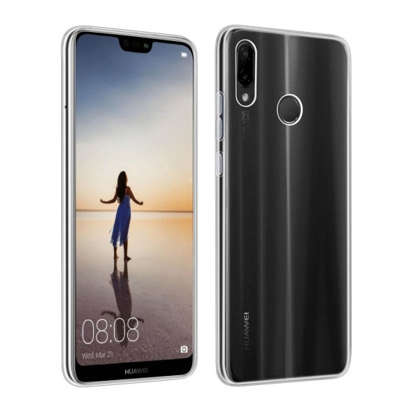 Husa Upzz Spate Ultra Slim Huawei P30 Lite , 0,5mm ,silicon ,transparenta imagine itelmobile.ro 2021