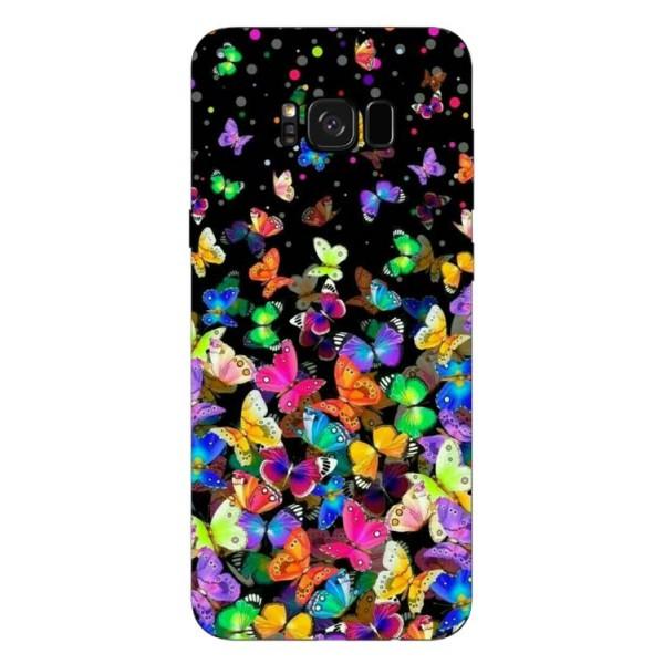Husa Silicon Soft Upzz Print Samsung S8+ Plus Colorature imagine itelmobile.ro 2021