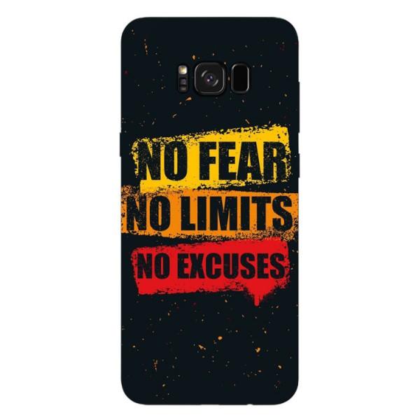 Husa Silicon Soft Upzz Print Samsung S8+ Plus No Fear imagine itelmobile.ro 2021