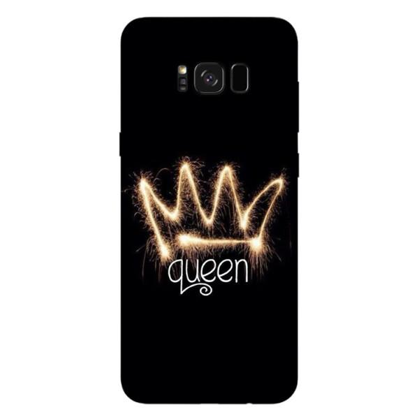 Husa Silicon Soft Upzz Print Samsung S8+ Plus Queen imagine itelmobile.ro 2021