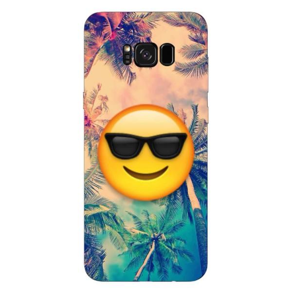 Husa Silicon Soft Upzz Print Samsung S8+ Plus Smile imagine itelmobile.ro 2021