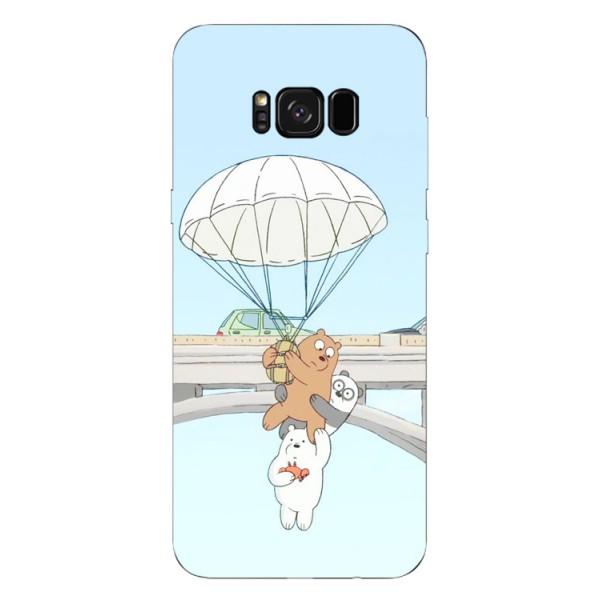 Husa Silicon Soft Upzz Print Samsung S8+ Plus Three Bears imagine itelmobile.ro 2021