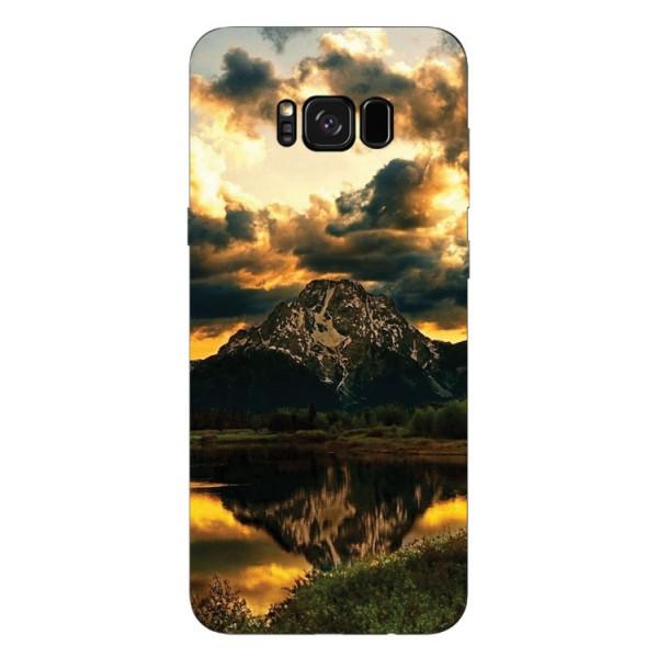 Husa Silicon Soft Upzz Print Samsung Galaxy S8 Model Apus imagine itelmobile.ro 2021