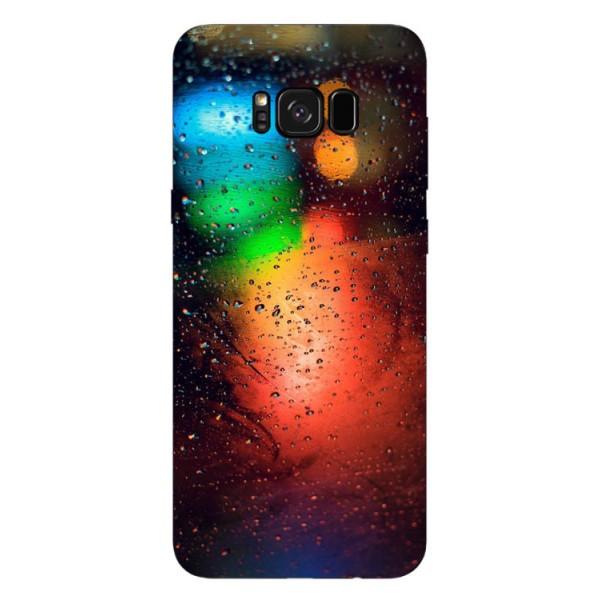 Husa Silicon Soft Upzz Print Samsung Galaxy S8 Model Multicolor imagine itelmobile.ro 2021