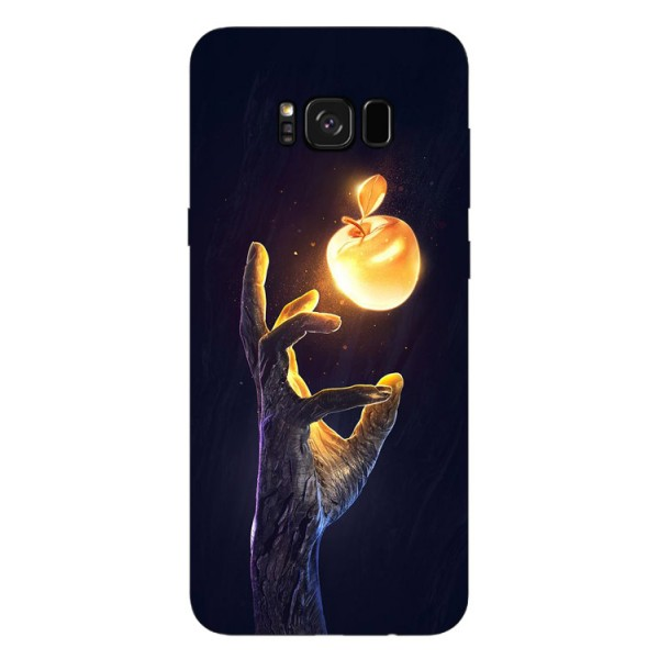 Husa Silicon Soft Upzz Print Samsung Galaxy S8 Model Reach imagine itelmobile.ro 2021