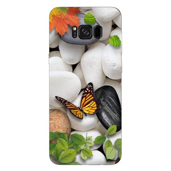 Husa Silicon Soft Upzz Print Samsung Galaxy S8 Model Zen imagine itelmobile.ro 2021