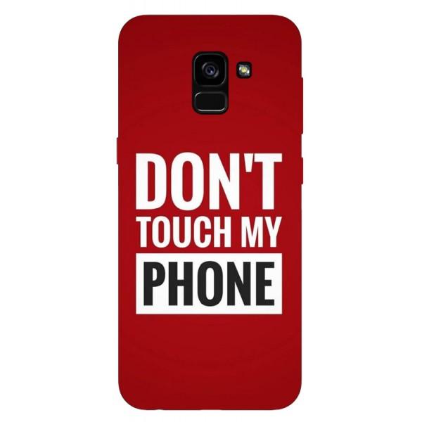 Husa Silicon Soft Upzz Print Samsung Galaxy A8 2018 Model My Phone imagine itelmobile.ro 2021