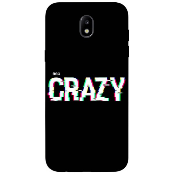 Husa Silicon Soft Upzz Print Samsung Galaxy J3 2017 Model Crazy imagine itelmobile.ro 2021