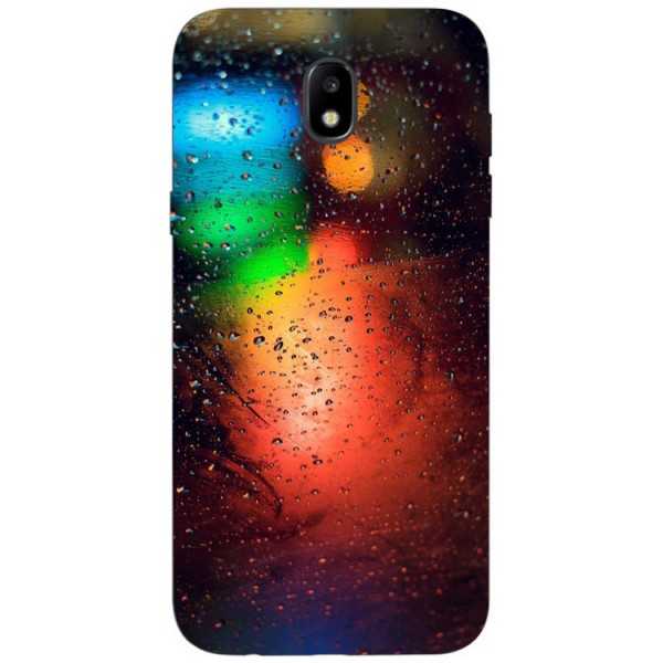 Husa Silicon Soft Upzz Print Samsung Galaxy J3 2017 Model Multicolor imagine itelmobile.ro 2021