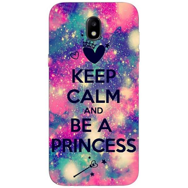Husa Silicon Soft Upzz Print Samsung Galaxy J7 2017 Model Be Princess imagine itelmobile.ro 2021