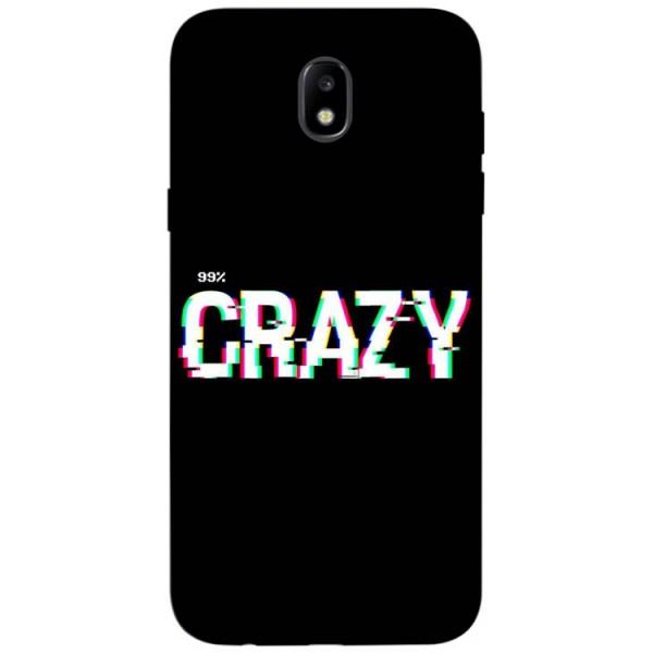 Husa Silicon Soft Upzz Print Samsung Galaxy J7 2017 Model Crazy imagine itelmobile.ro 2021